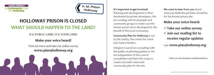 A5 Postcard Plan 4 Holloway