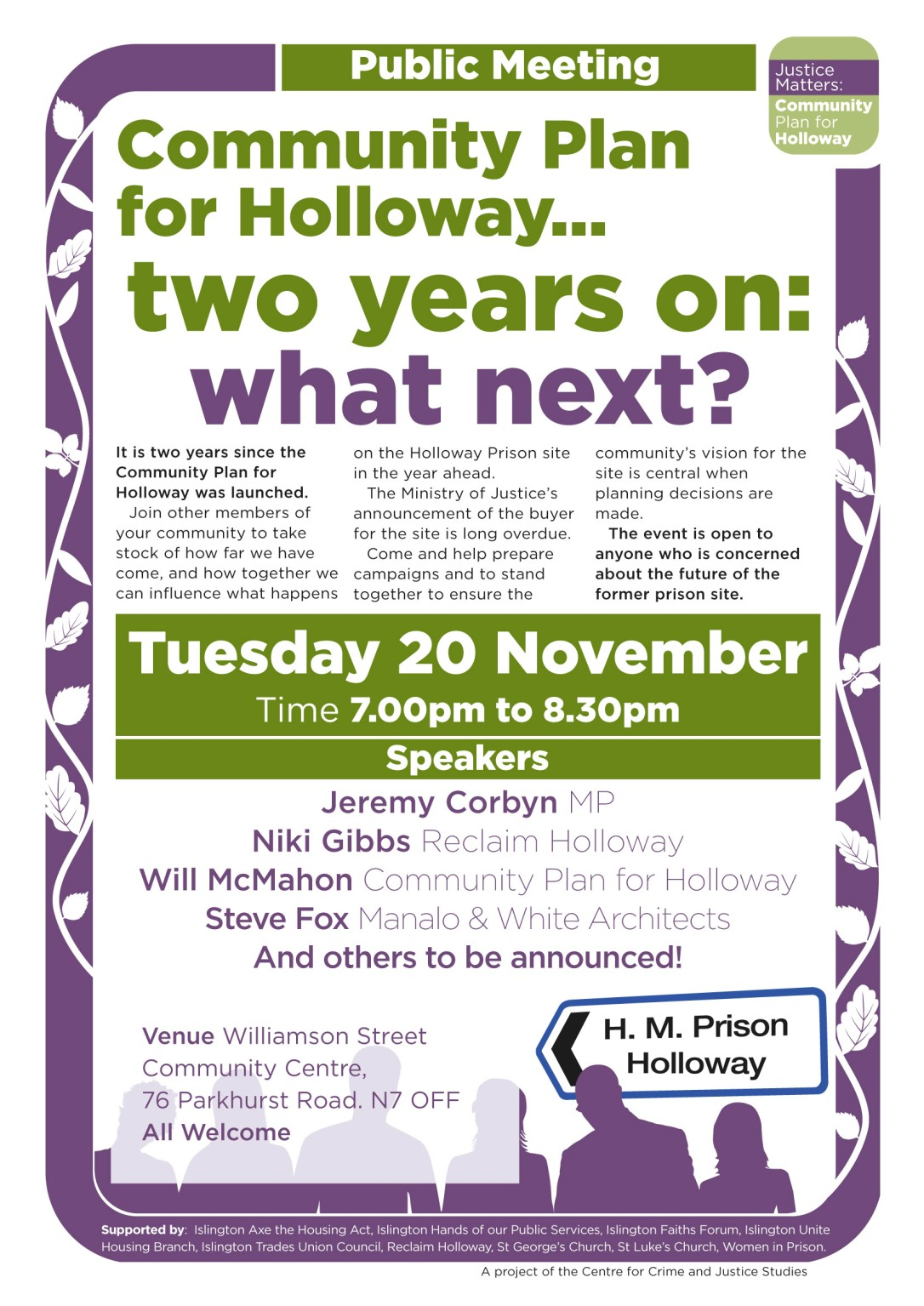 Community Plan for Holloway 20th Nov public meeting flyer social media.jpg
